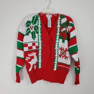 "Vintage Beaded ""Ugly"" Holiday Sweater"